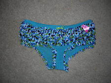 Xhilaration Intimates Ruffle Panties Sz XS Blues NEW/NWT