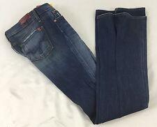 Sacred-Blue B2 Women's Boot Cut Flare Denim Jeans Medium Blue Wash NWOT Waist 28