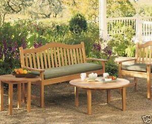 Terra Grade-A Teak 5 Feet Outdoor Garden Patio Luxurious Bench Furniture New