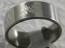 Edelstahlring Edelstahl Stainless Steel Ring > Drache / dragon < Gr. 19