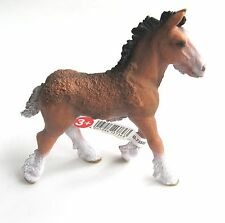 SCHLEICH FARM LIFE 13736 - SHIRE HORSE FOAL - NEW WITH TAGS!!