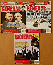 Armchair General Magazine Lot of 3 Battle of the Bulge, End of Civil War, & More