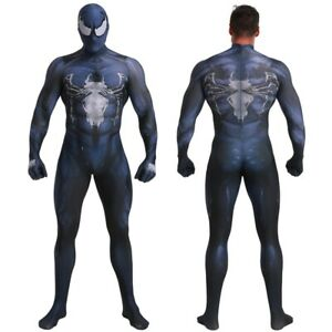 Spider-Man Venom Jumpsuit Adult Halloween Cosplay Costume