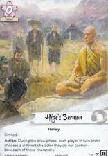 Legend Of The Five Rings L5R - Alt Art - Hige's Sermon