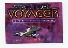Skybox 1995 Star Trek Voyager Season 1 Series Two Survey Chase Card Unnumbered