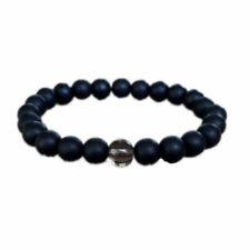 bracelet smoky quartz yoga jewelry Black obsidian bracelet depression healing