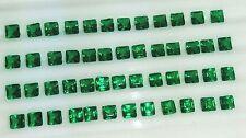 Ebay 100% Natural Of Zambian Emerald 10 Cts Lot Square Shape Cut Loose Gemstone