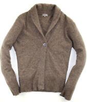 John Lewis Pullover Strickjacke Sweater Kaschmir Braun Gr. 2XL