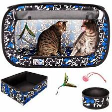 "CheeringPet Portable Pop Up/Collapsible Cat Travel Cage Kit 32""x19""x19"" ;"