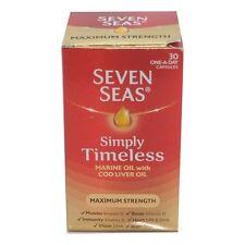 Seven Seas puro aceite de ricino Extra Alta Resistencia - 30 Cápsulas