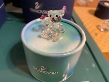 Swarovski Kris Bear, Playful Butterflies #1143450 with box