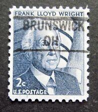Sc # 1280 ~ 2 cent Prominent Americans, Precancel, BRUNSWICK OH