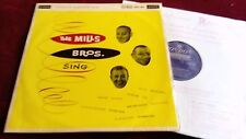 THE MILLS BROTHERS - THE MILL BROS. SING - ORIGINAL UK LP IN LAMINATED SLEEVE