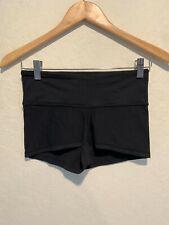 Lululemon Athletica Women's Yoga Shorts Size 4 Black Booty Compression Gym