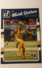 NFL Trading Card Mark Barron Los Angeles Rams 2016 Panini Donruss