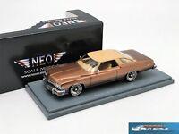 RARE! Buick Le Sabre 2-Door Hardtop Coupe 1974 NEO44120 1/43