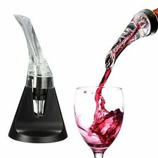 Mini Red Wine Travel Aerator Essential Set Quick Aerating Pourer Decanter Hol GL