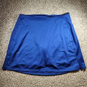 "Nike Women's Dri-FIT Victory 17"" Golf Skort BV0253-492 Size Large Blue"