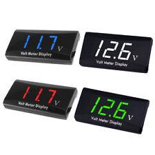 Digital LED Display Voltmeter Voltage Gauge Panel Meter For Auto Car Motorcycle