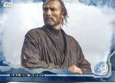 Star Wars Rogue One Blue Parallel Base Card #38 Galen Erso