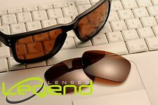 A45 Brown POLARIZED replacement Legend Lenses For Oakley HOLBROOK