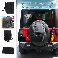 Backpack Cargo Spare Tire Storage Bag fit for Jeep Wrangler JK TJ YJ CJ5 CJ7 CJ8