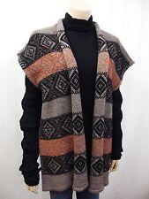 Damen-Strickjacken aus Mischwolle ohne Verschluss