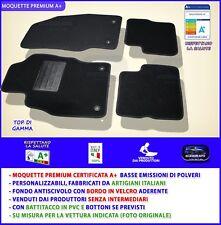 Tappetini Opel Corsa D 2006>2014 tappeti auto su misura antiscivolo no ricami