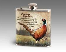 AMERICAN EXPEDITION STAINLESS STEEL FLASK PHEASANT