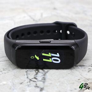 Samsung Galaxy Fit SM-R370 Black Smart Fitness Tracker w/ Original Black Band