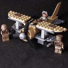 Albatross Flighter Military World War 2 Aircraft Fit Lego SWAT Air Plane