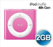 Apple Ipod Shuffle 4th Generation A1373 2GB - Pink MC58LL/A  Free Shipping
