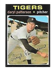 DARYL PATTERSON 1971 TOPPS #481 NRMT DETROIT TIGERS FREE COMBINED SHIPPING