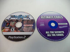 Soul Calibur 2 II (Sony PlayStation 2, 2003) & Action Replay Ultimate Codes Disc