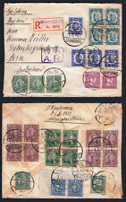 China 1941 Registered  Mailed Cover from Shanghai Via Siberia to Switzerland