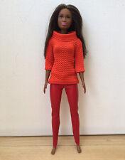 Barbie & Co Puppenkleidung Leder Hose  Pulli Kleidung