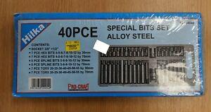 Hilka 40pc Special Bit Set