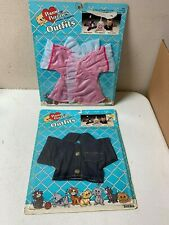 NOS 2 Different Vintage Pound Purries Outfits Tonka 1986 Pound Puppies