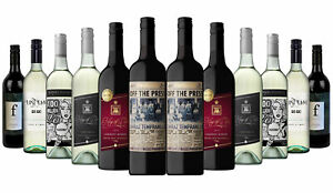 2100+ SOLD! AU Red Wine & White Mixed 12x750ml 5-Star Winery Free S/R