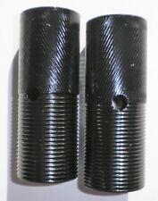 Pair Of Black Steel Bmx Bicycle Pegs Bike Parts 56-3