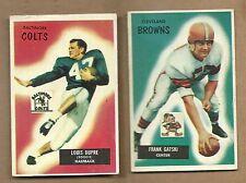 1955  BOWMAN  FOOTBALL  LOUIS  DUPREE  # 160