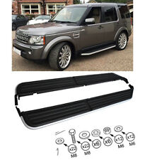 Fit For Land Rover Discovery 2004-2009 3/4 Aluminium Side Steps Running Board UK