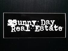 Sunny Day Real Estate Sticker Decal