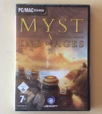 Jeu PC / MAC MYST V : END OF AGES 5 Neuf Sous Blister