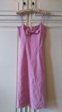 Superbe robe en lin 34/36 - état neuf