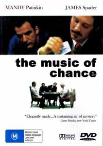 The Music of Chance 1993 James Spader - Rare DVD Aus Stock New