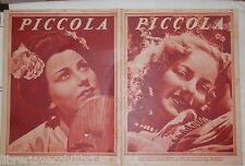 PICCOLA 21 gennaio 1936 Barbara Monis Olivia de Havilland Edith Fellows Harlow