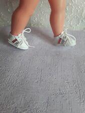 Chaussures de poupée compatible  modes et travaux  baskets petitcolin