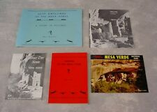 Rare Vintage BOOKS/BOOKLETS CLIFF DWELLING INDIANS OF MESA VERDE Photos History