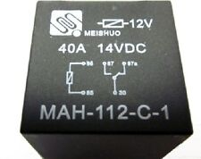 10 pcs 12V SPDT 40 Amp Relays & Sockets 5 prong - PREMIUM QUALITY